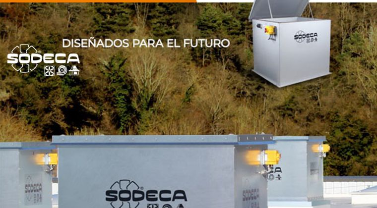 Sodeca presenta un nuevo concepto en sistemas de ventilación con compuertas