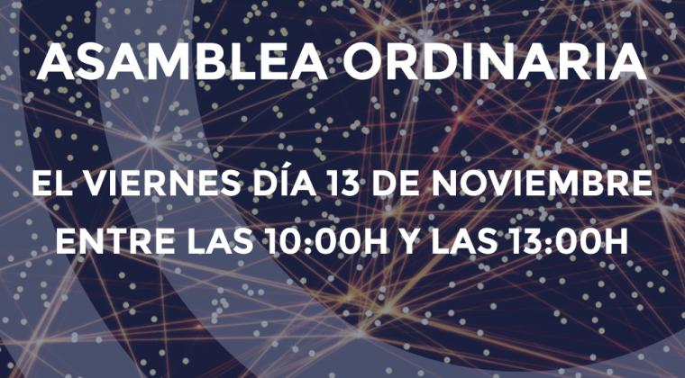 Asamblea Ordinaria de Grumelec el Viernes día 13 de Noviembre