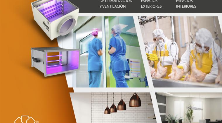 Soluciones para desinfección, limpieza y purificación de aire de Sodeca