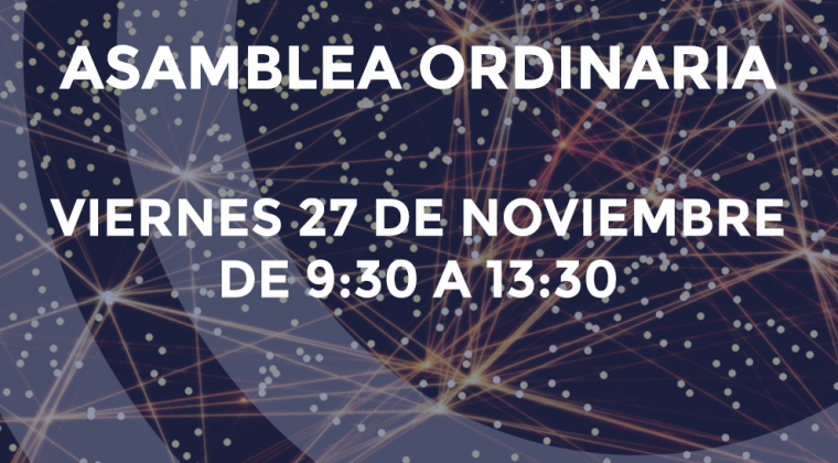 Asamblea Ordinaria de Grumelec el Viernes día 27 de Noviembre