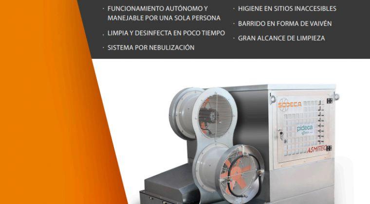 DISINFECT-500 la máquina desinfectante industrial de Sodeca