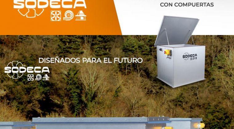 Sodeca presenta un nuevo concepto en sistemas de ventilacón con compuertas