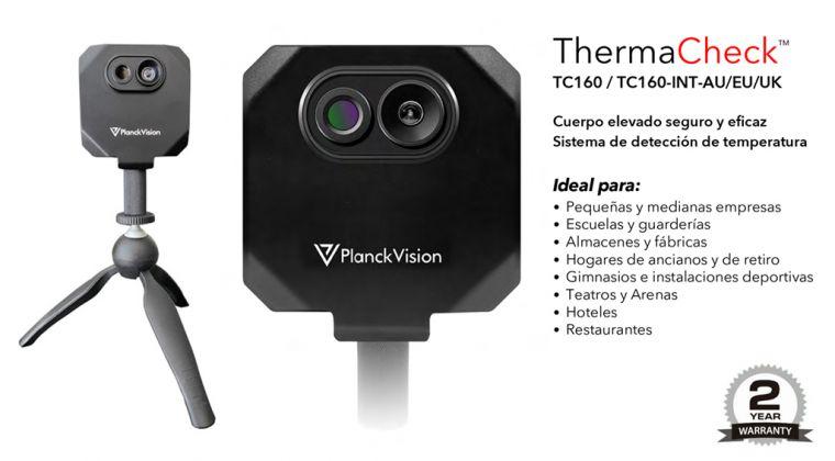 ThermalCheck, una nueva cámara térmica de detección automática temperatura corporal