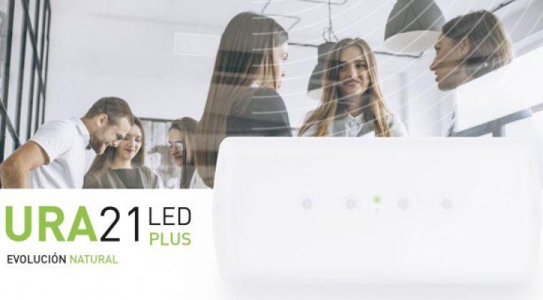 Nueva gama de luminarias de emergencia URA21LED PLUS de Legrand