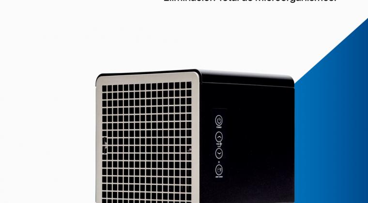 Pure Air Box: El nuevo purificador de aire y superficies de Haverland