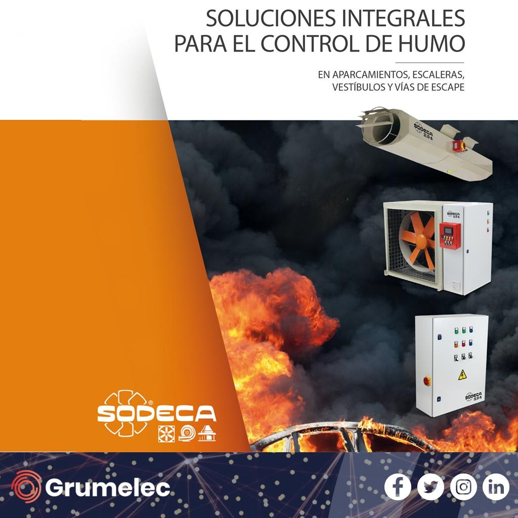 Soluciones Integrales para el control de humo de Sodeca