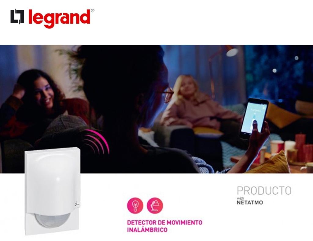 Legrand Group presenta un nuevo detector de movimiento inalámbrico