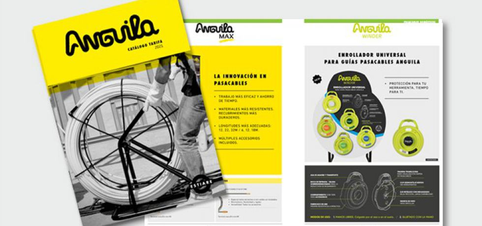 Ya está disponible el nuevo catálogo Anguila 2021