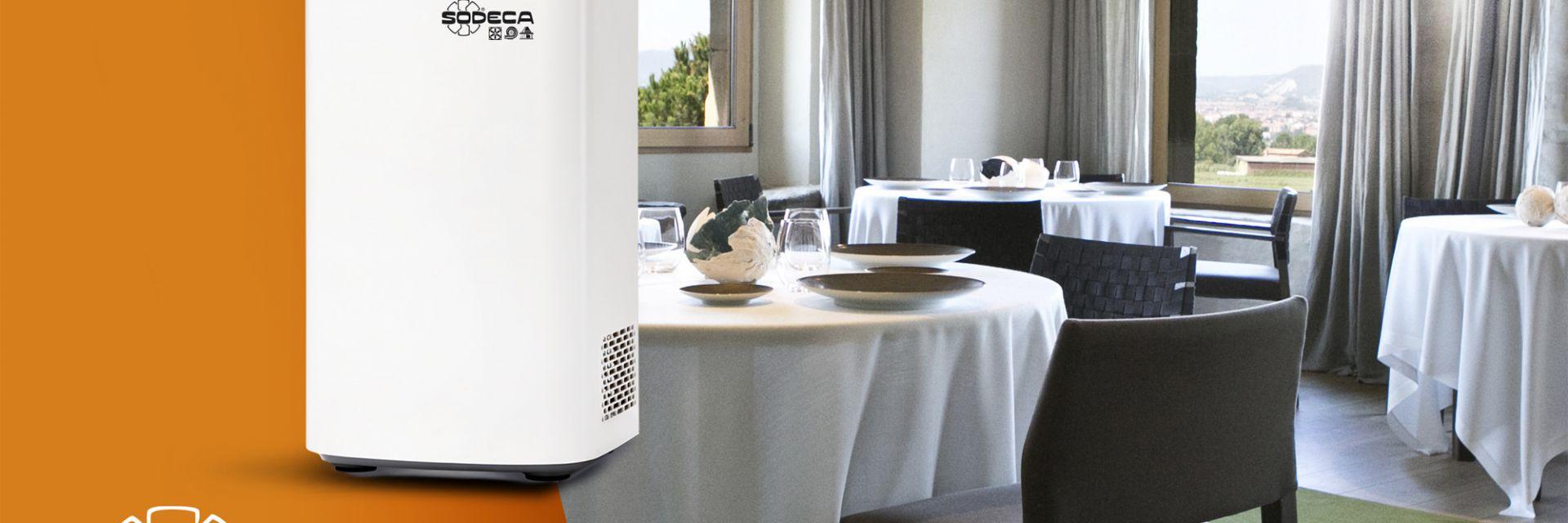 AirDog: Solución para la purificación del aire de Sodeca